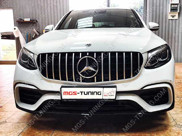 Бампер 63AMG GLC Coupe