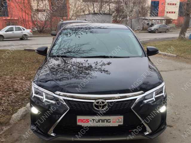 Бампер в стиле Lexus Toyota Camry