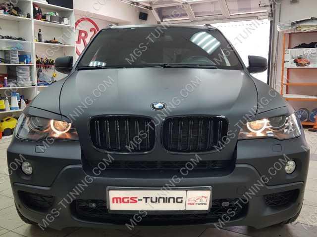 Ноздри в стиле X5M на BMW X5 E70, ноздри для бмв х5, ноздри для бмв в м стиле