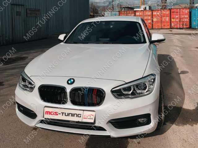 Ноздри с триколором на BMW 1 Series F20