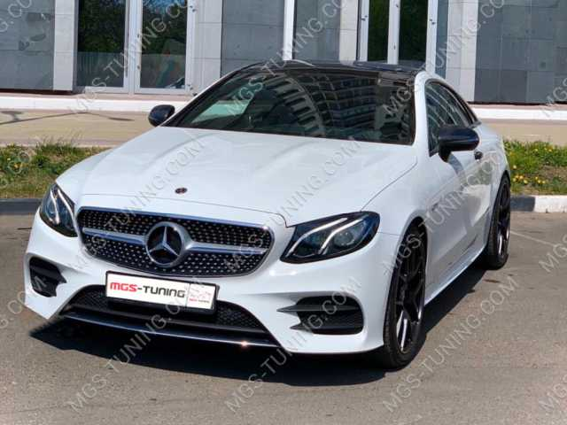 Решетка радиатора в стиле E53 на Mercedes E-Coupe C238