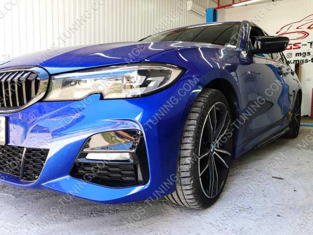 Крышки зеркал в стиле M3 на BMW 3 Series G20