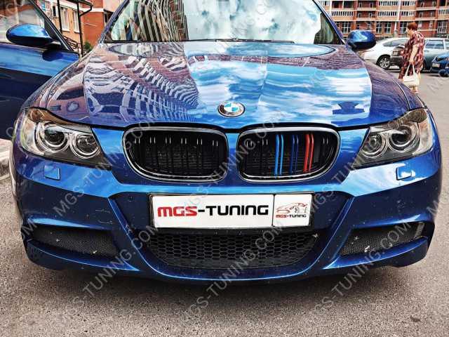 Ноздри + Спойлер BMW 3 E90