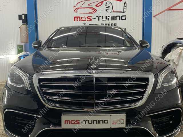 Обвес в стиле рестайлинга S63 AMG на Mercedes S-Class W222