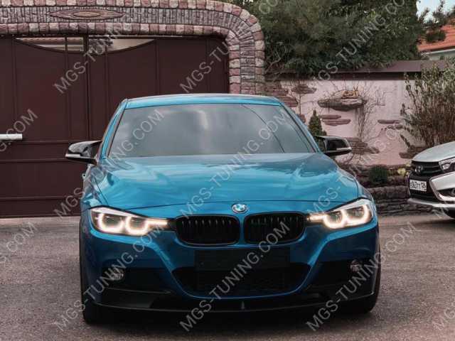 Губа M-Perfomance на BMW 3 Series F30