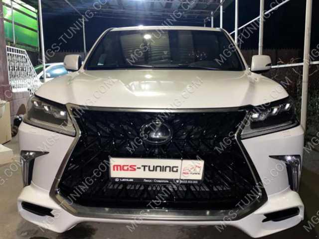 Обвес SUPERIOR Lexus LX белый