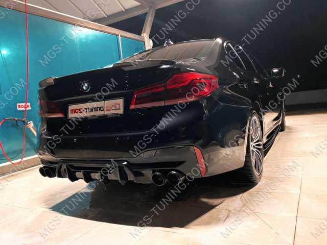 Диффузор M5 Competition на BMW 5 Series G30