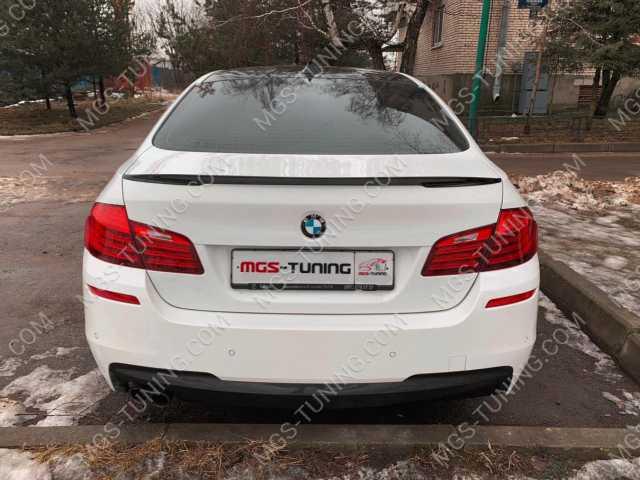 Спойлер на крышку багажника на BMW 5 Series F10