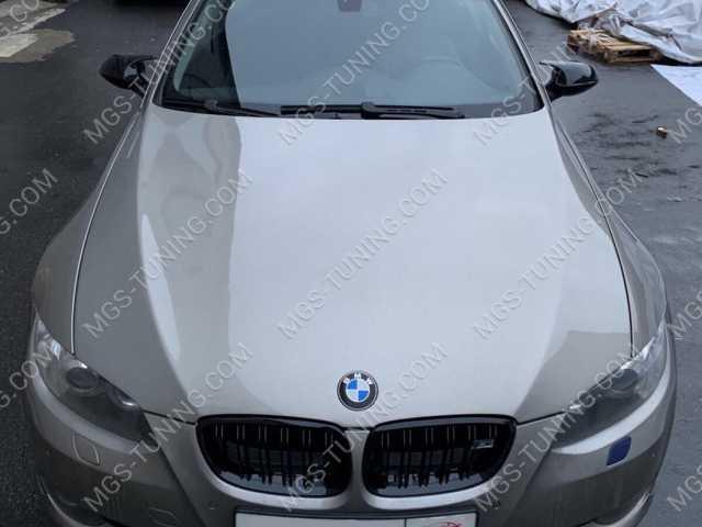 Решетка радиатора и крышки зеркал в стиле M3 на BMW 3 Series E92