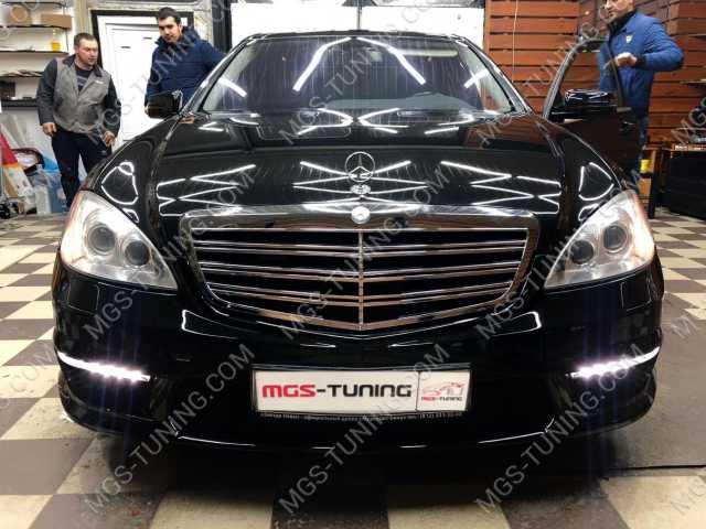 Обвес в стиле S63 AMG на Mercedes S-Class W221
