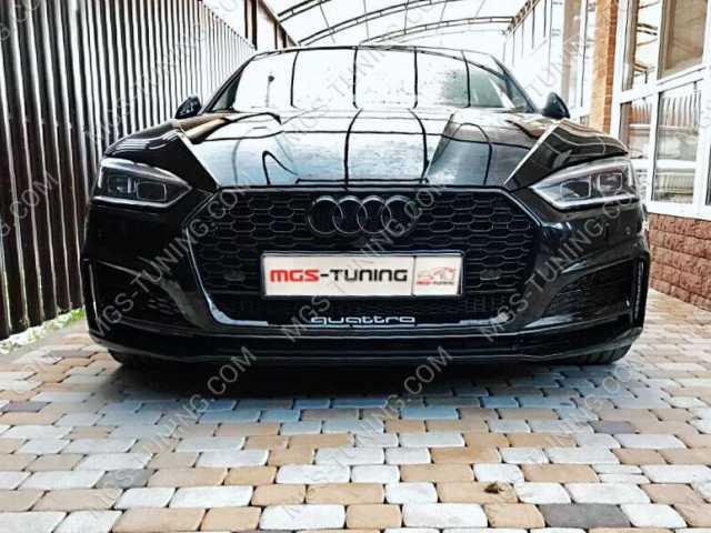 Решётка на Audi A5 16-н.в. в стиле RS5 style #1