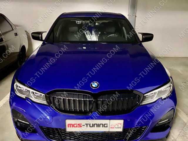 Карбоновые крышки зеркал на BMW 3 Series G20