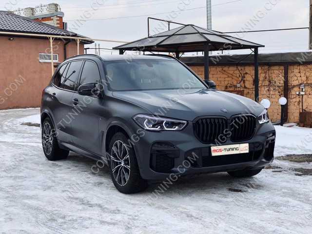Тюнинг BMW X5 G05 в стиле M5