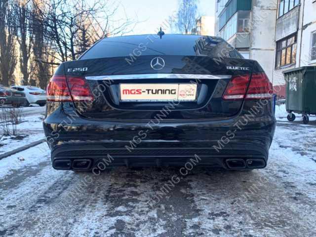 Тюнинг Mercedes E Class W212 в стиле AMG E63 AMG