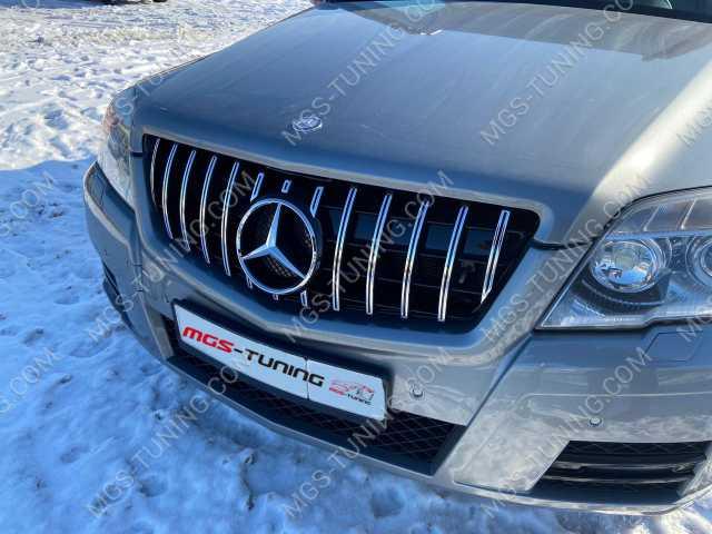 Решетка радиатора в стиле GT на Mercedes GLK-Class