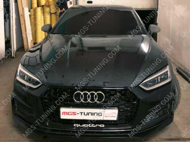Решётка радиатора на Audi A5 16-н.в. в стиле RS5 style