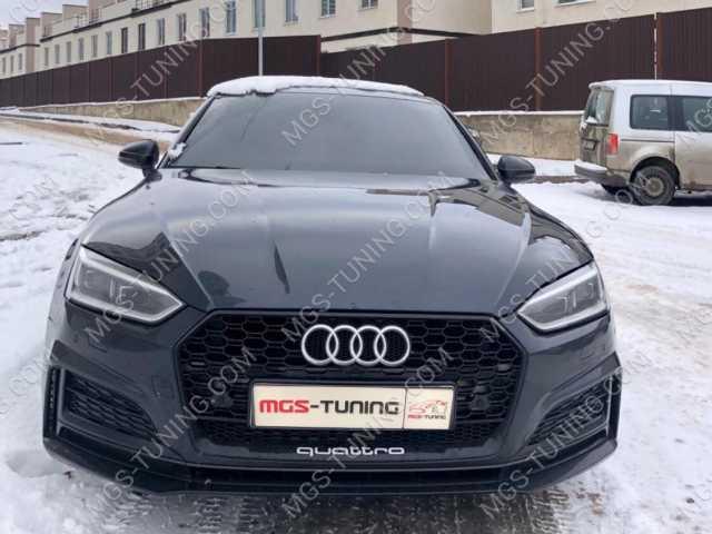 Решетка радиатора в стиле RS5 на Audi A5 2016 года