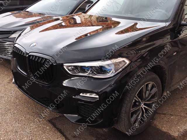 BMW X5 G05, решетка радиатора на х5, решетка радиатора бмв х5