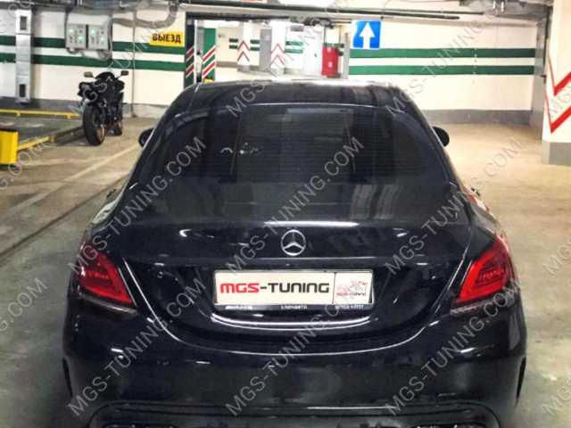 Mercedes C-Class W205, диффузор мерседес, диффузор mercedes
