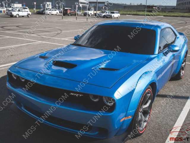 Комплект обвеса SRT 8 Demon Dodge Challendger + капот