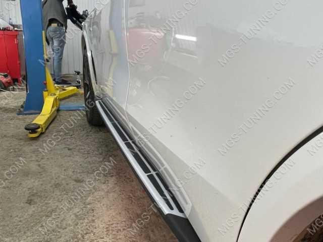 Подножки на BMW X5 G05 БМВ Х5 Г05