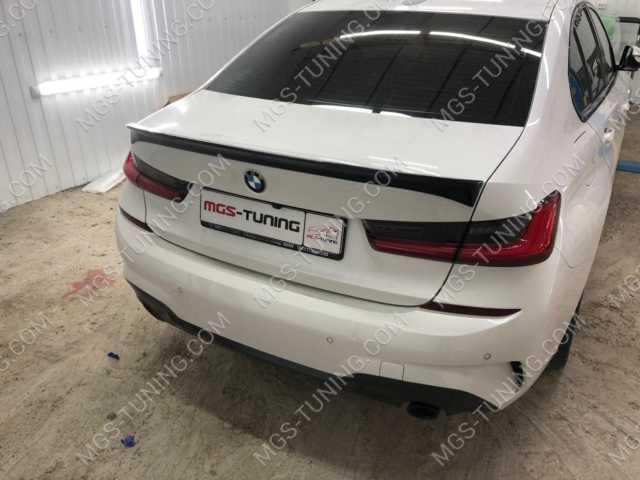 Спойлер на крышку багажника BMW 3 series G20 AC Schnitzer