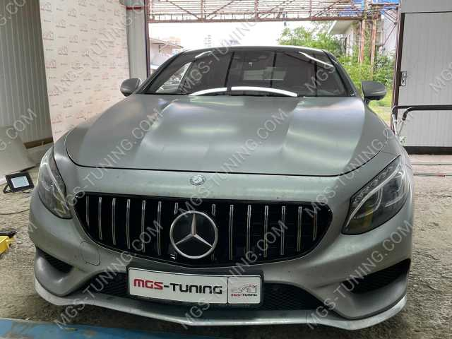 Решетка радиатора на Mercedes S-Class Coupe C217 GT Style