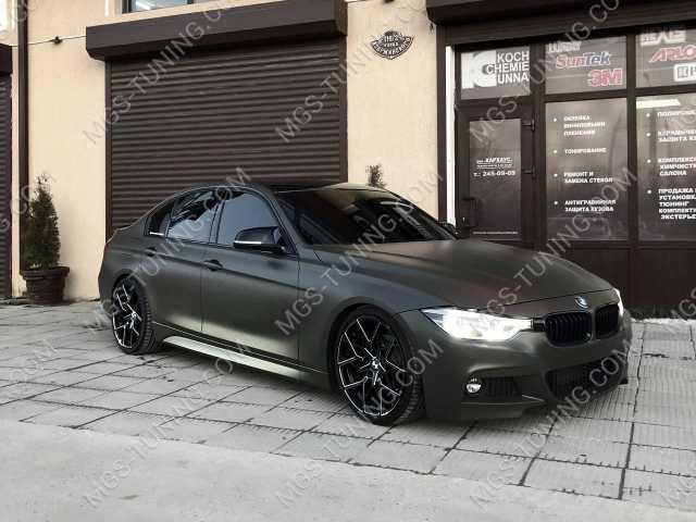 Крышки зеркал в стиле M на BMW 3 f30