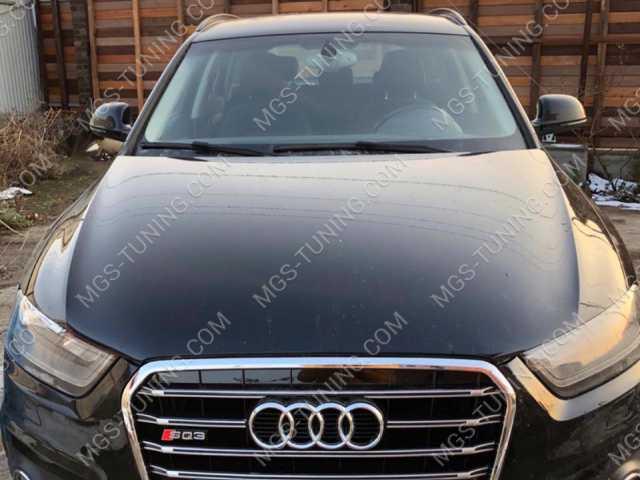 Решетка радиатора в стиле SQ3 на Audi Q3, решетка для ауди, решетка радиаора на ауди, решетка радиатора AUDI