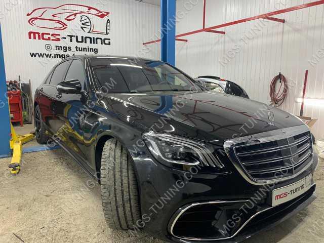 Как переделать Mercedes S-Class W222 в рестайлинг ?