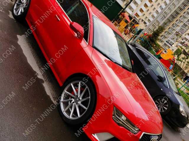 Обвес в стиле RS7 на Audi A7