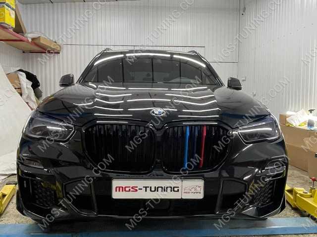 Ноздри с триколором на BMW X5 G05
