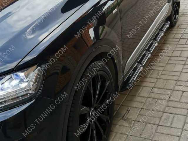 Подножки на Audi Q7