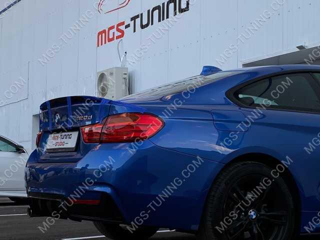 Спойлер на крышку багажника M Perfomance на BMW 4 Series F32