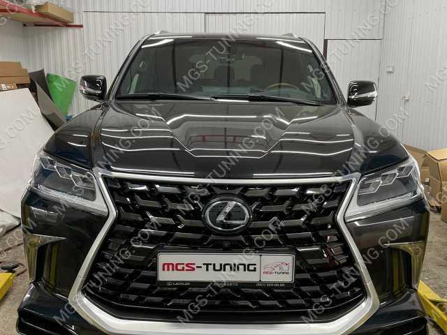 Обвес HERITAGE Lexus LX черный