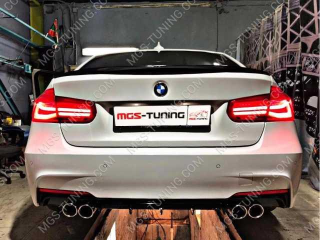 Тюнинг BMW f30 спойлер, диффузор, насадки