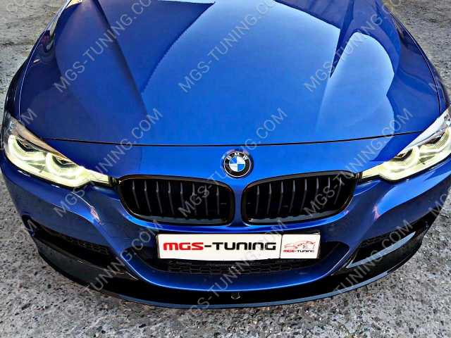 """Губа """"Черный глянец"""" На BMW f30"""