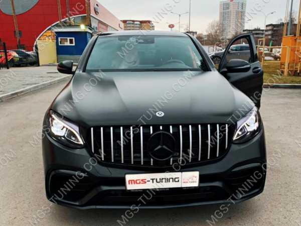 Mercedes GLC-Coupe, обвес на gls, обвес на мерседес, обвес на мерс